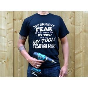 Powertools T-shirt maat L