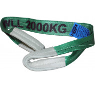Kelfort Hijsband groen Lengte 4 meter max 2 ton
