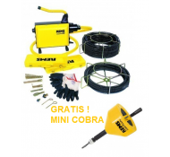 Rems  Rems 172X01 Cobra 22 Set 16 + 22 Elektrische ontstopper