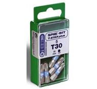 Spax schroefbit T-Star plus Torx 30 - set van 5 stuks