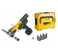 Rems Mini-Press ACC Basic Pack 14.4 Volt Accuradiaalpers tot 40mm + 3 Bekken naar keuze+ L-Boxx