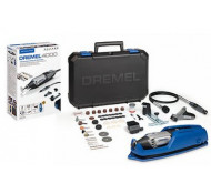 Dremel 4000 multi pro - Rotatie tool + 65 delig acc set +Flexi verleng as en Tas