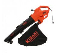 Kibani WPEV1101 elektrische bladblazer 3000 watt